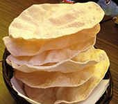 Basket of Papadums