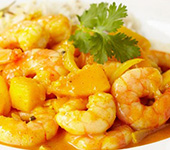 Mango Fish or Prawn