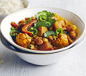 Vegetables Jalfrezi
